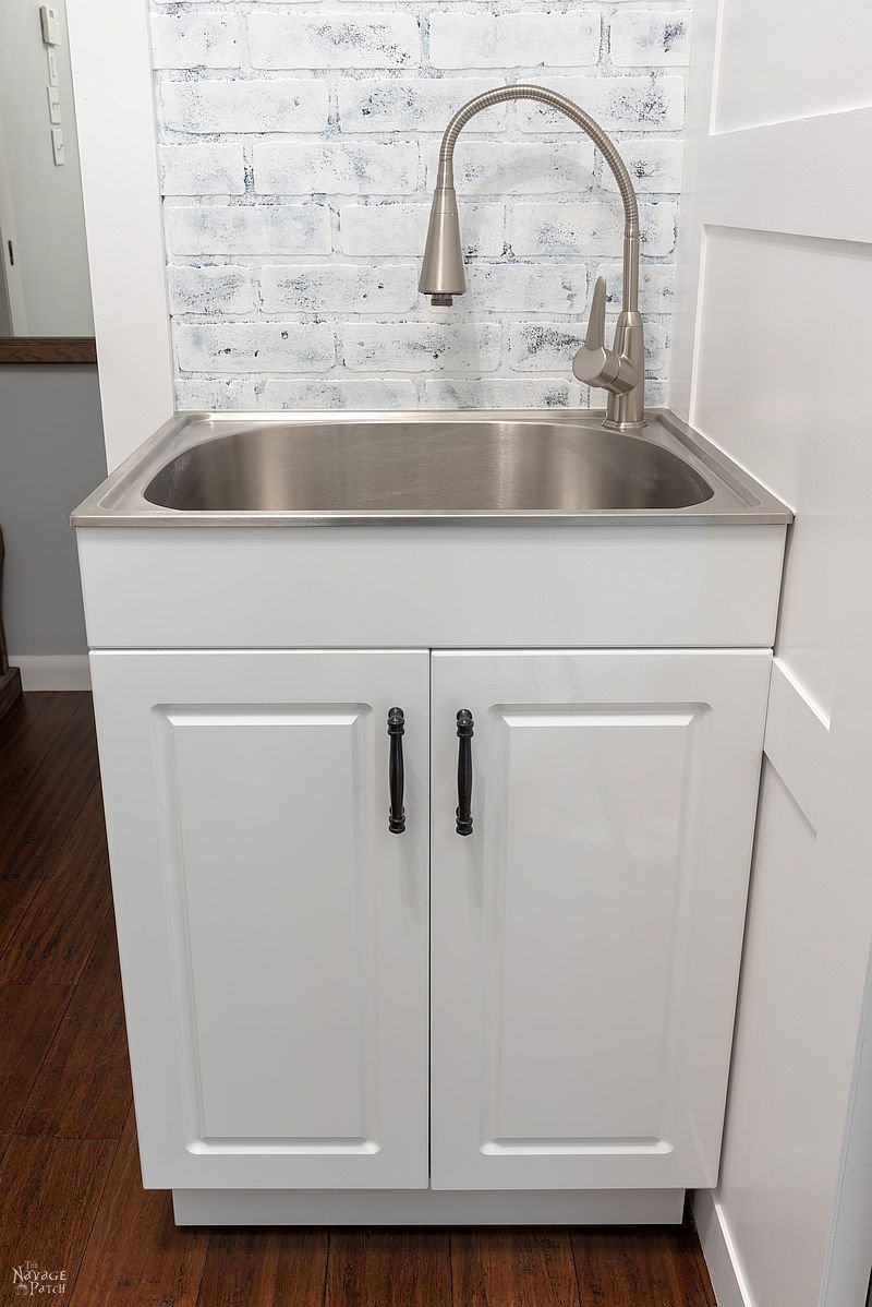 laundry room makeover reveal the