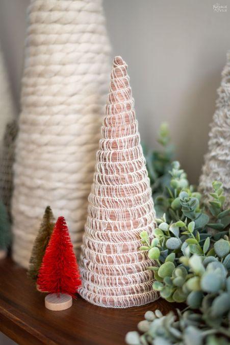 DIY Mambo Yarn Trees | An Easy & Beautiful Craft! | The Navage Patch