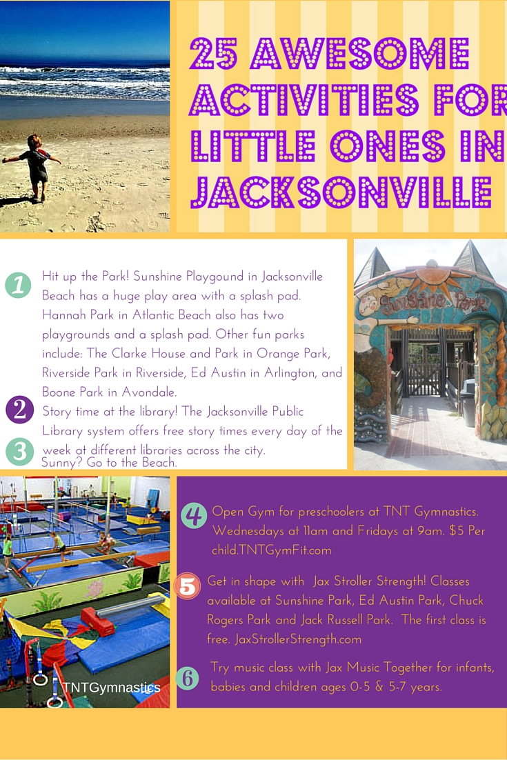 25 Awesome Activities for Little Ones in Jacksonville, Florida