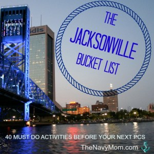 The Jacksonville Bucket List