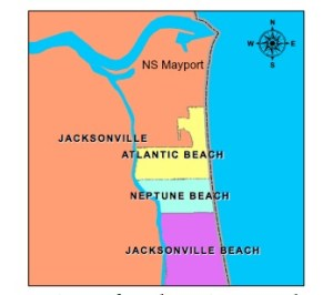 Map from City of Atlantic Beach
