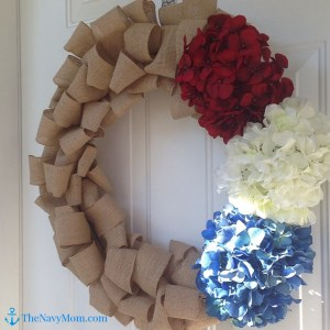 Homecoming Wreath