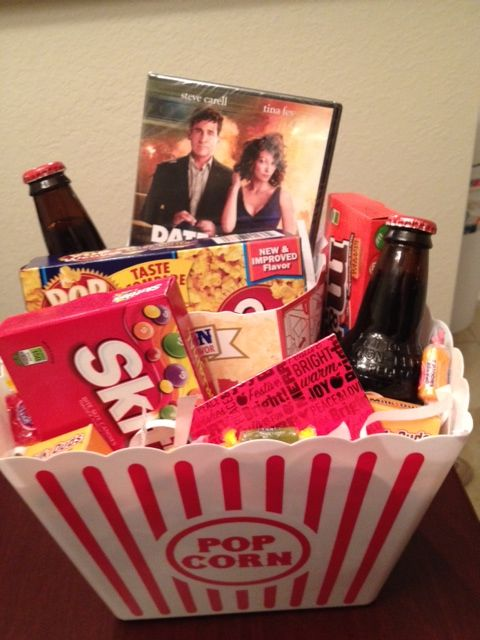 Movie Night from http://meganshipton.blogspot.com/2012/12/christms-gift-basket.html