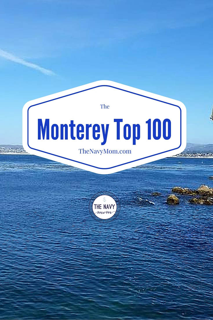 The Top 100 Things to do in Monterey, California from http://TheNavyMom