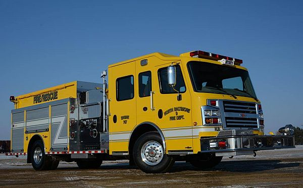 New NBFD Fire Pumper Arrives
