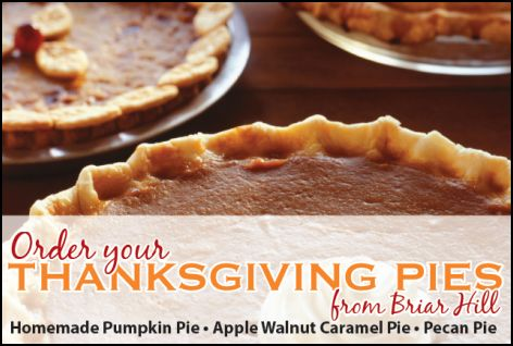Thanksgiving Pie Fundraiser for NBHS Music Boosters