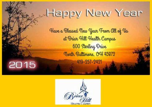 Briar Hill Health NewYear Greetings