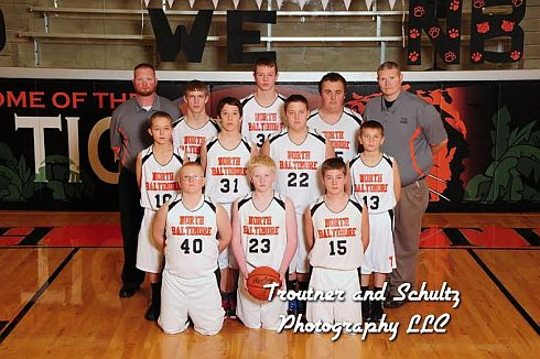 JH Boys 7th Grade BB Team Picture 2014-2015