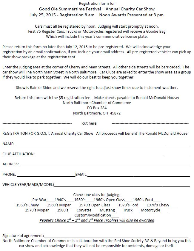 Gost car show information pre registration thenbxpress car show pre registration form click to enlarge or print thecheapjerseys Image collections