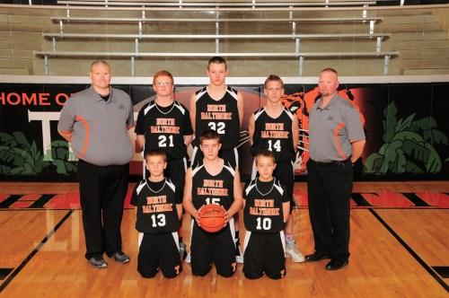 NBJH Boys 8th Grade Basketball 2015-2016