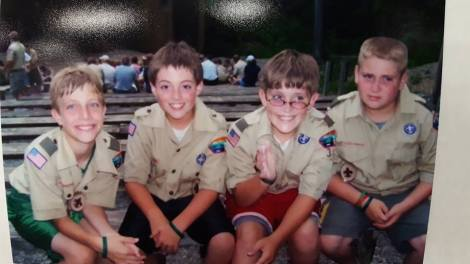 Eagle Scouts Fab 4 young