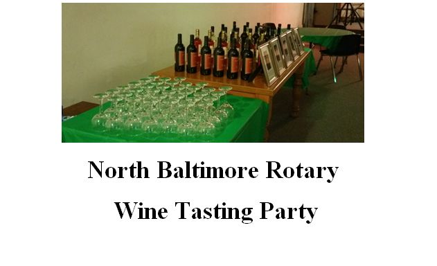 NB Rotary Wine Tasting Event