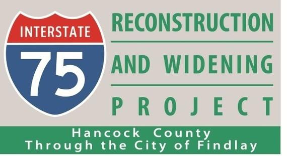 Weather Delays I-75 Lane Openings at Findlay