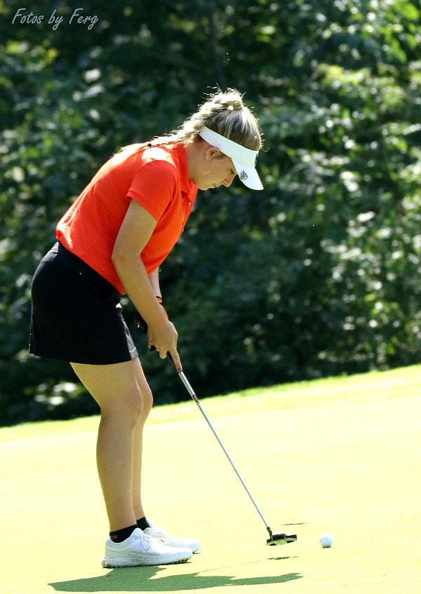 ACE by Lady Tiger Golfer on #10