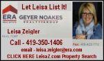 Leisa Zeigler ERA Real Estate