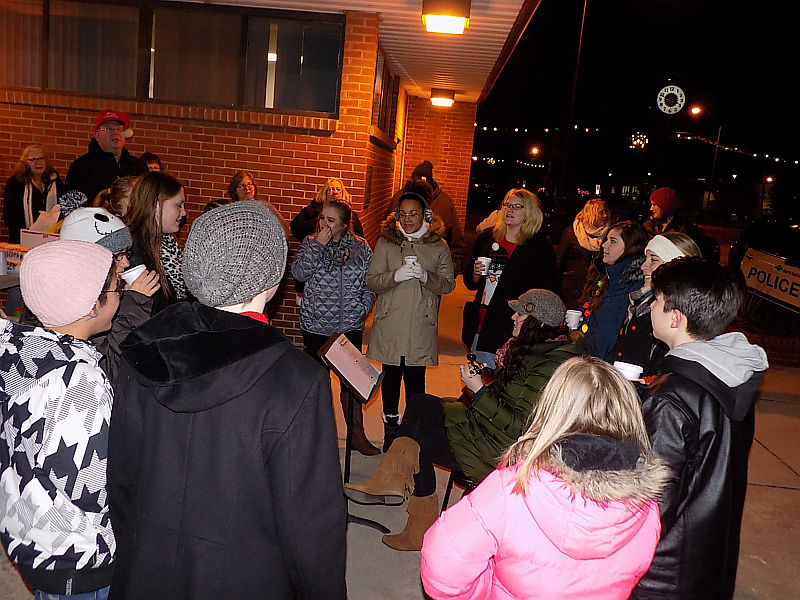 Caroling in Downtown NB Tonight!