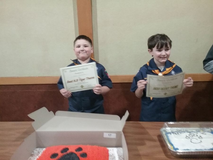 Cub Scout Cakes FUNdraiser = Sweet Success