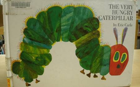 The Character Champion is … The Very Hungry Caterpillar!