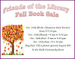 """""""Friends of the NB Library"""" Book Sale is Coming Soon"""
