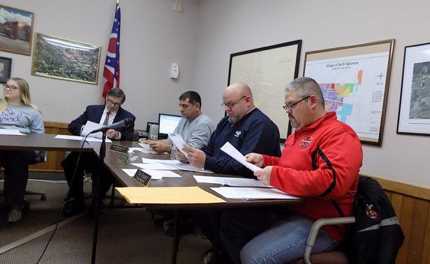 Village Council Reorganizes for 2019