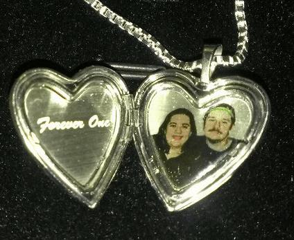 sterling silver heart valentine