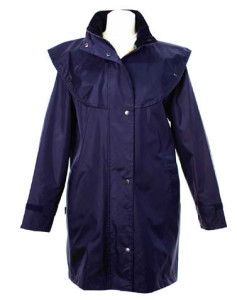 LJ056 Short cape navy