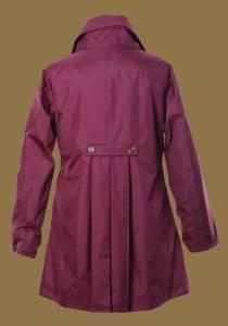 LJ064 Ladies New England Coat red back