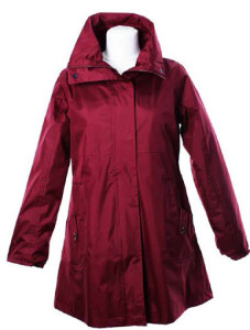 LJ064 Ladies New England Coat red front