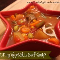 V8 Chunky Vegetable Beef Soup Recipe