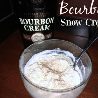 Bourbon Snow Cream