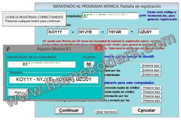 Registro Probado en Windows 8.1 PRO