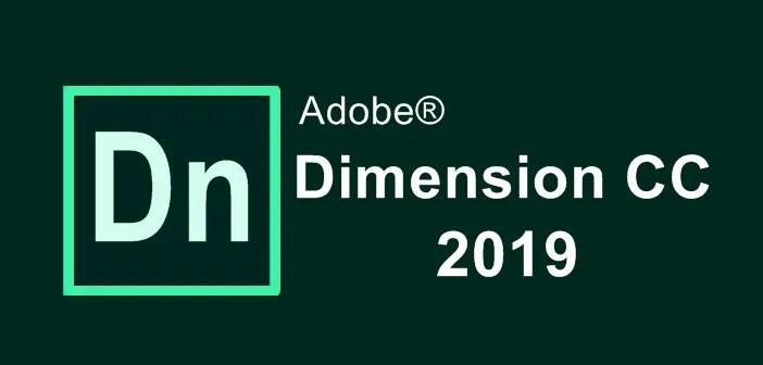 Adobe Dimension CC 2019
