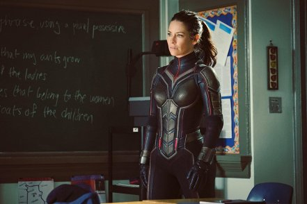Hope van Dyne/Wasp (Evangeline Lilly) in Ant-Man and The Wasp