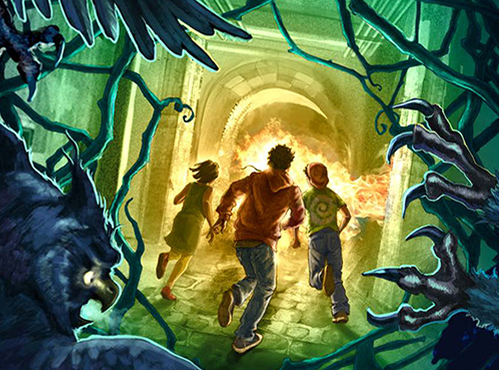 We Need To Talk About Rick Riordan's 'The Burning Maze
