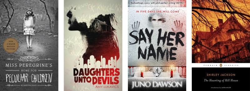 Halloween Books Creepy Covers