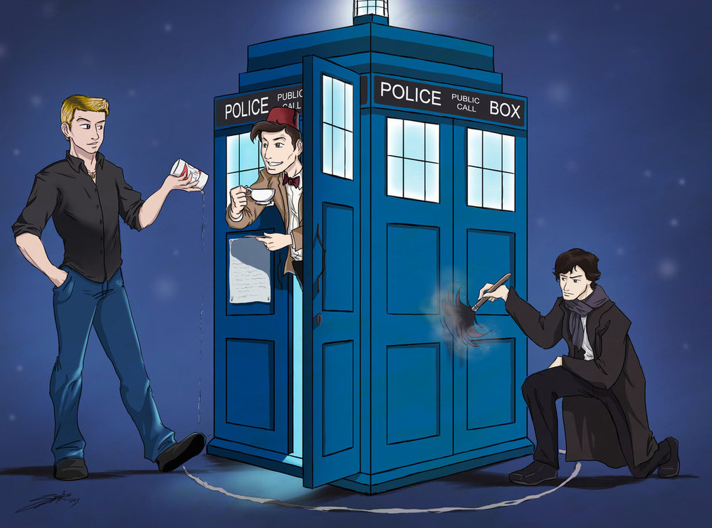 Fanfiction Superwholock