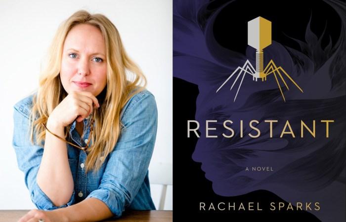Resistant Rachael Sparks Author