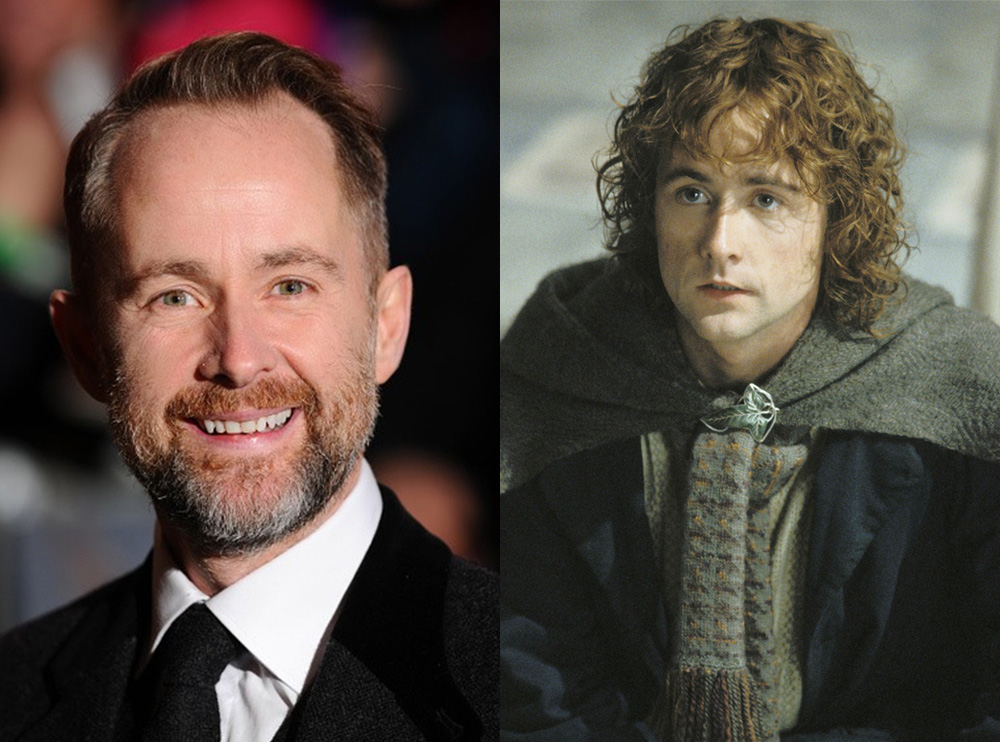 "Billy Boyd, ""Pippin"" from LOTR. Got to meet him today and ...