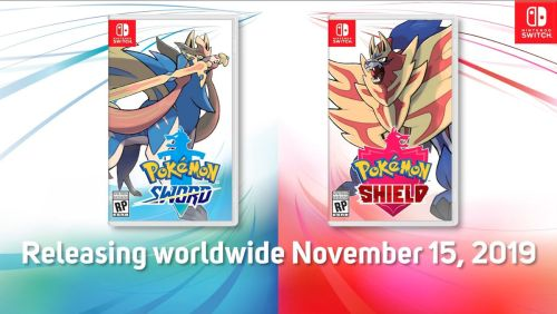 Pokémon Sword and Shield Games