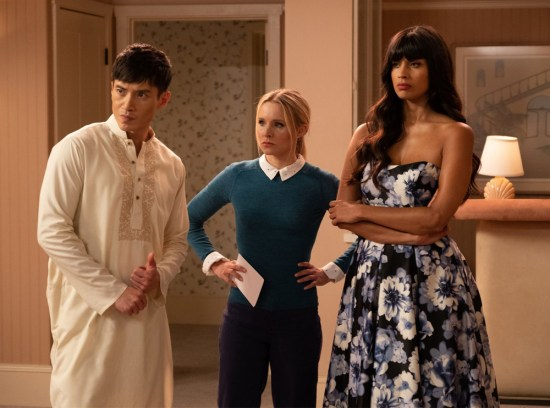 The Good Place Tinker, Tailor, Demon, Spy