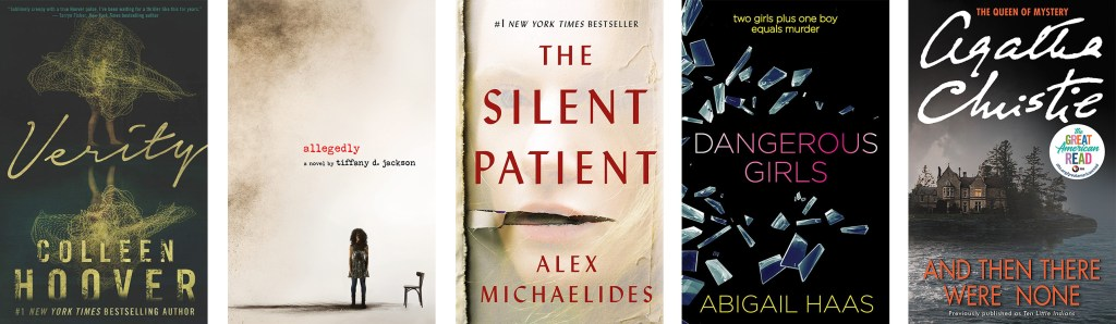 10 Thriller Book Recommendations