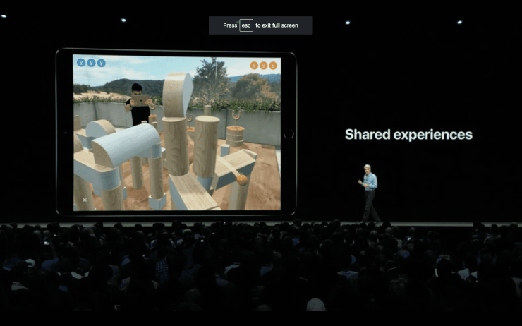 Image result for AR Experience wwdc 2018