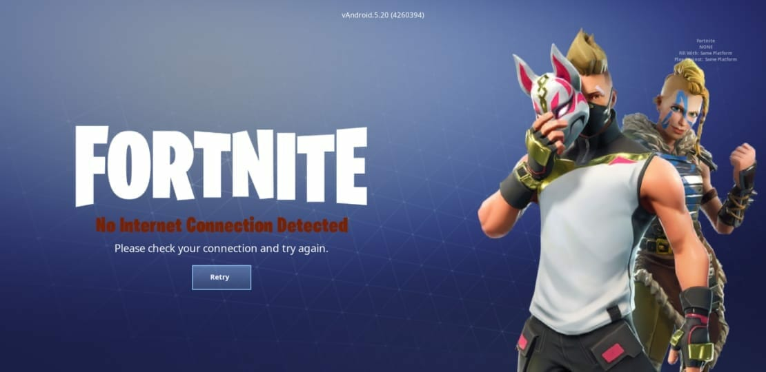 Fortnite Mobile 52 APK ByPass Update Login And How To