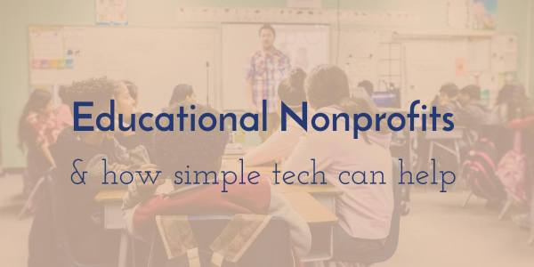 Educational Nonprofit Classrooms