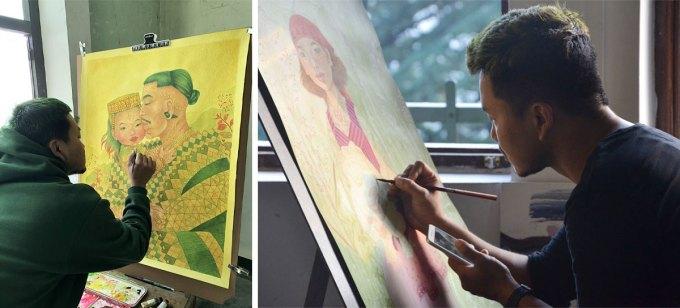 Thokchom Sony: An artist who heals the soul