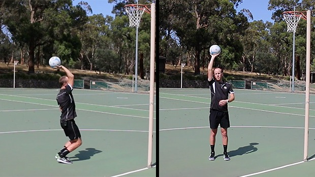 Goaling technique netball coaching drills session shooting