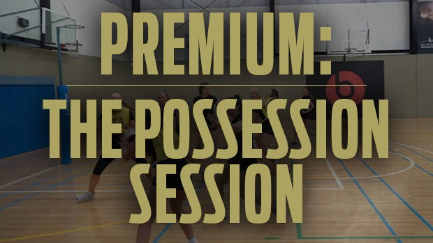 Possession session netball coaching specialist Dan Ryan