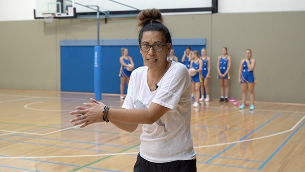 Noeline Taurua netball drill The Weave