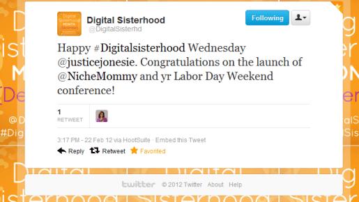 Digital Sisterhood Wednesday