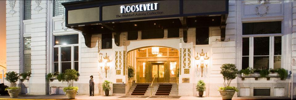 The Roosevelt New Orleans Waldorf Astoria